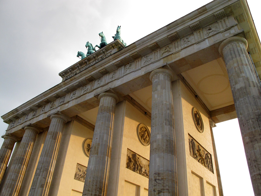Бранденбургские ворота в Берлине
