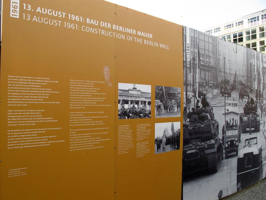 Август 1961: строительство Берлинской стены