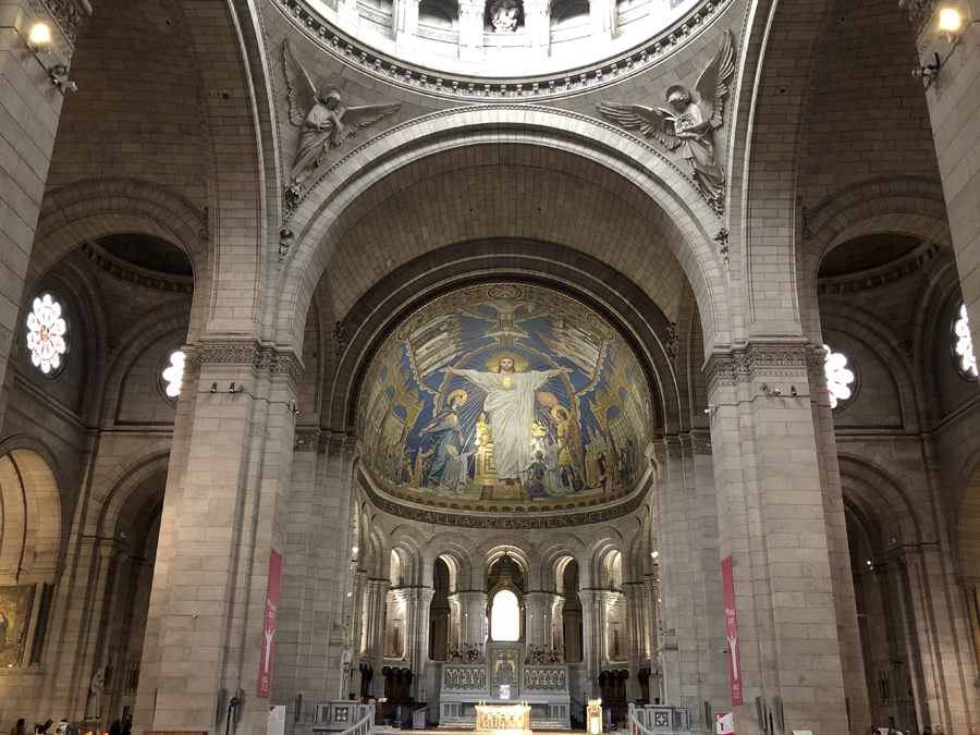 Мозаика в базилике Сакре-Кёр