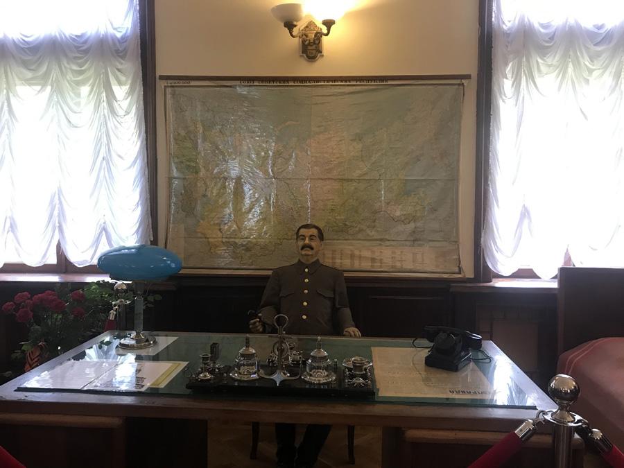 Восковая фигура Сталина